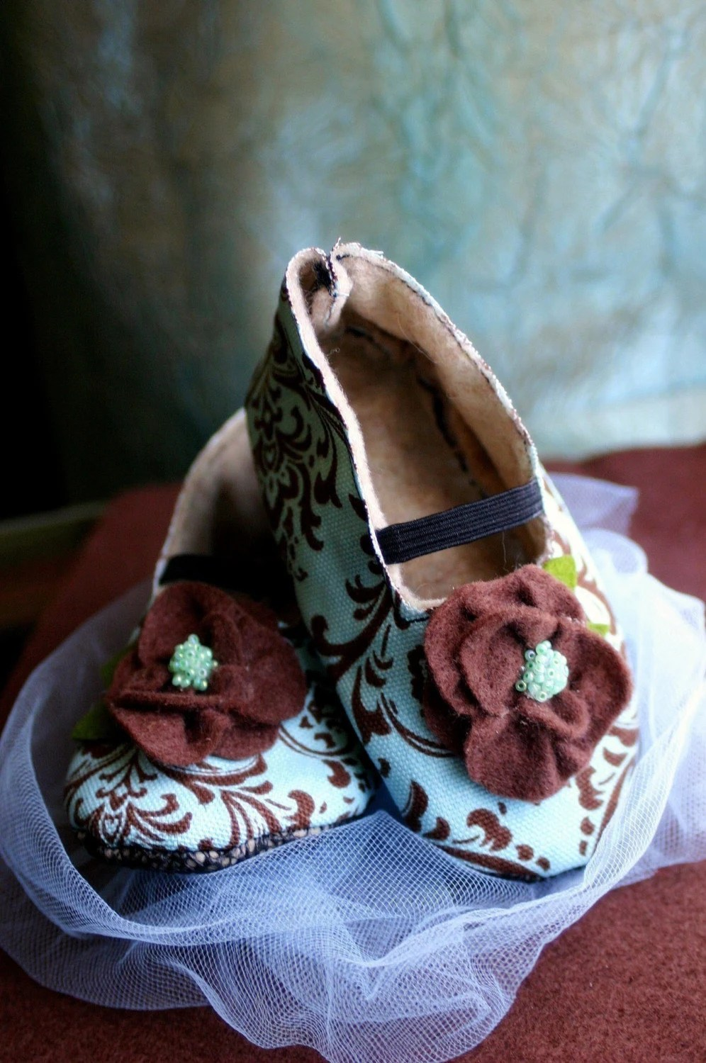 Bella Frosting - MOD Mint Chocolate Booties - LIMITED EDITION