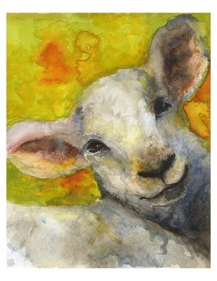Spring Lamb- Print