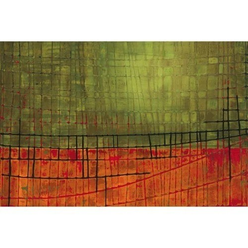 Journey - XLarge 30 x 20 Fine Art Print / Poster of Original Contemporary Abstract Painting - Free Shipping