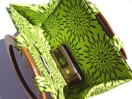Pride and Prejudice- Jane Austen Book Handbag- Retro/Funky green