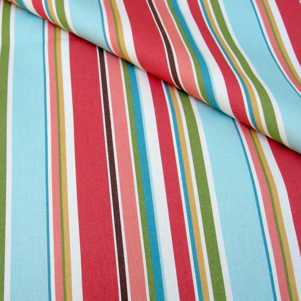 Hammock Stripe Organic Canvas - 1 yard
