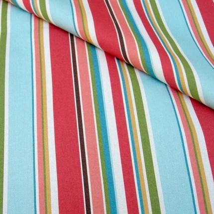 Hammock Stripe Organic Canvas - 1 yard