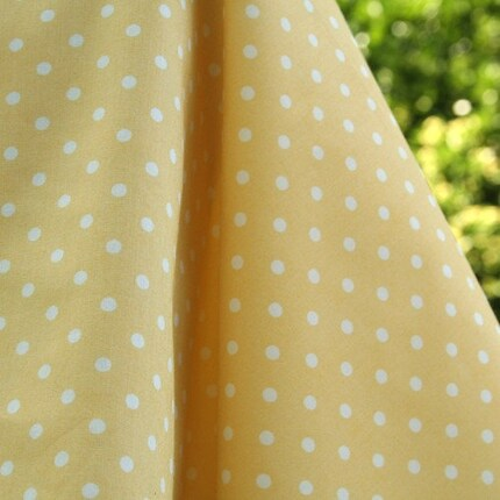 My Happy Garden, Michelle Engel Bencsko, Cloud9 Organic Fabric, Speckle Sun, 1 fat quarter