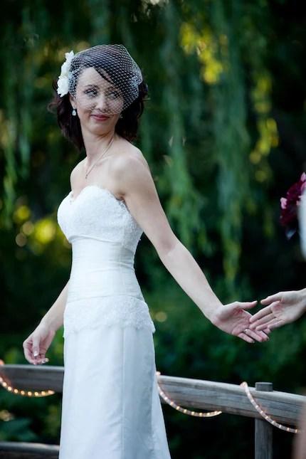 Bandeau Birdcage Veil - Bridal or Special Occasion