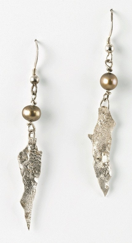 Sterling Silver, Reticulated Silver, Freshwater Pearls