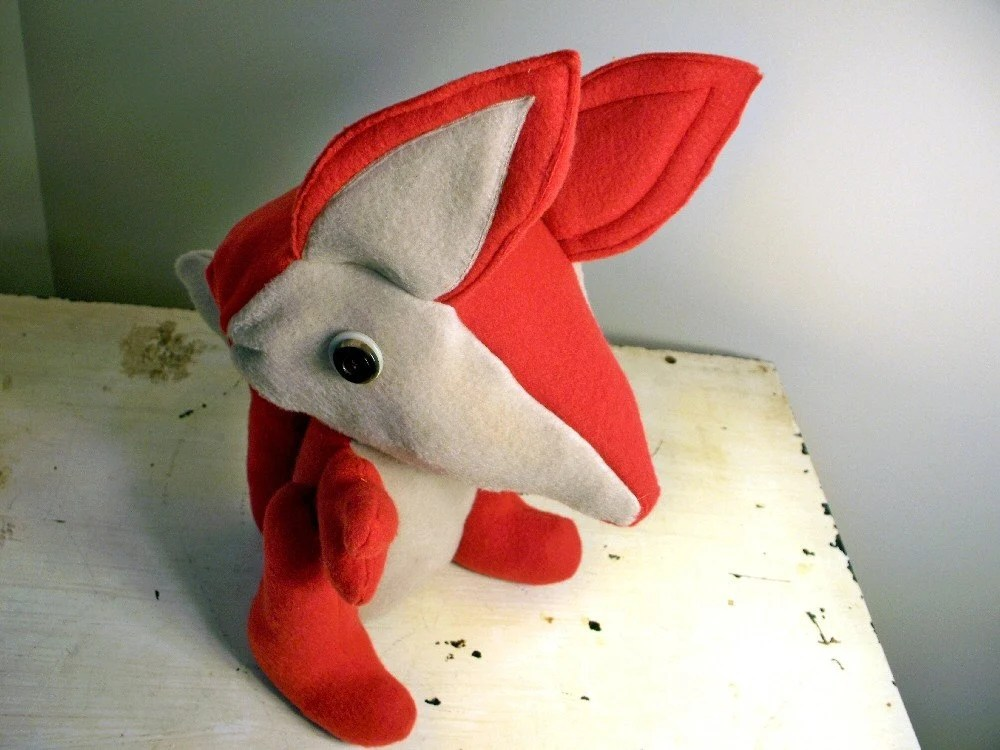 Genius Upcycled Fabric Plush Stuffed with Recycled Bags