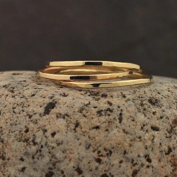 Thin Gold Band