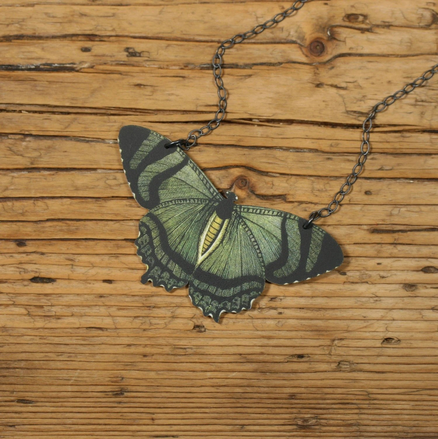 Butterfly Necklace by MamasLittleBabies