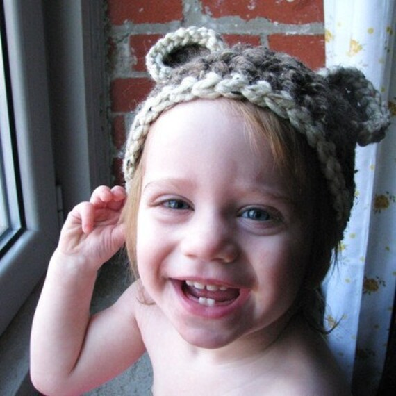 the teddy bear toddler beanie.