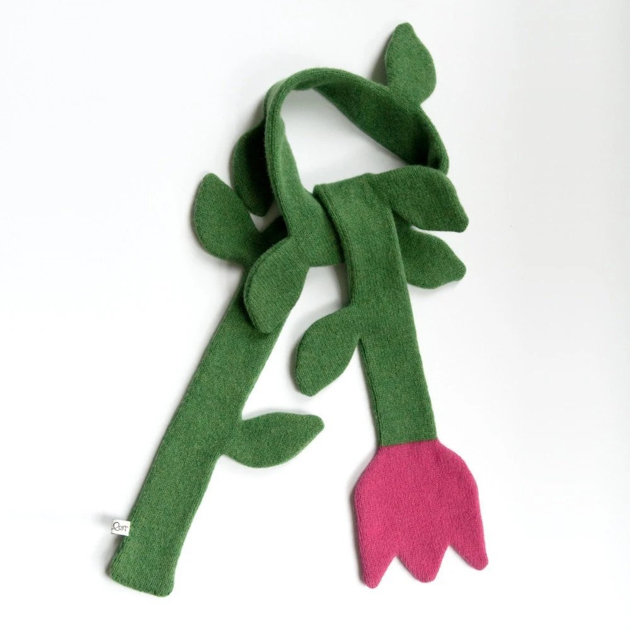 Sara Carr's Tulip Scarf