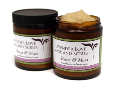 Becca & Mars Lavender Love Scrub Review