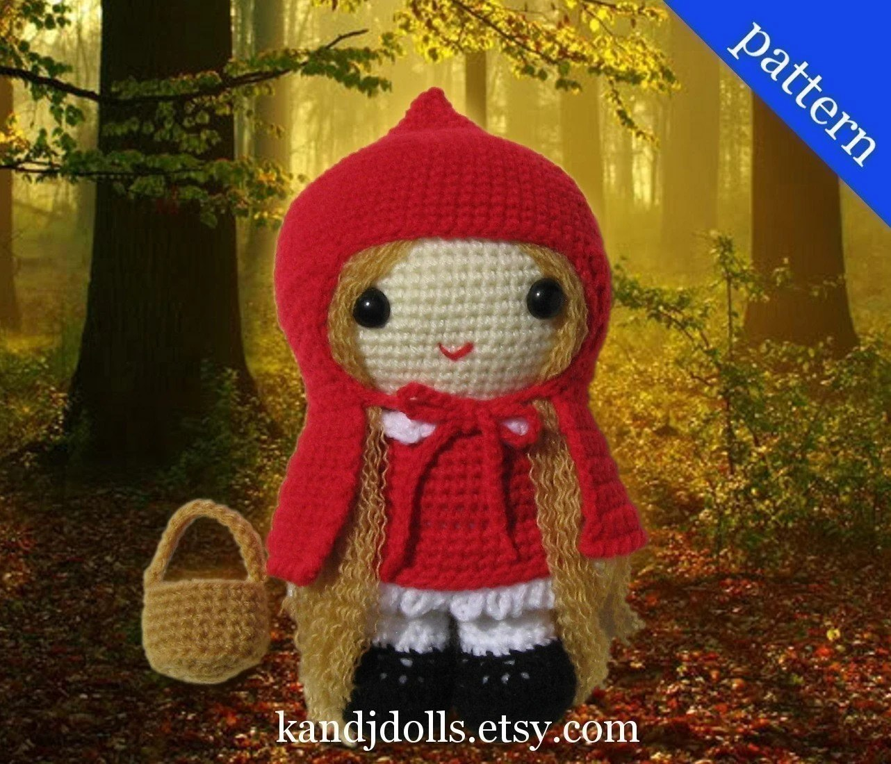 Red Riding Hood - Pdf Crochet Pattern
