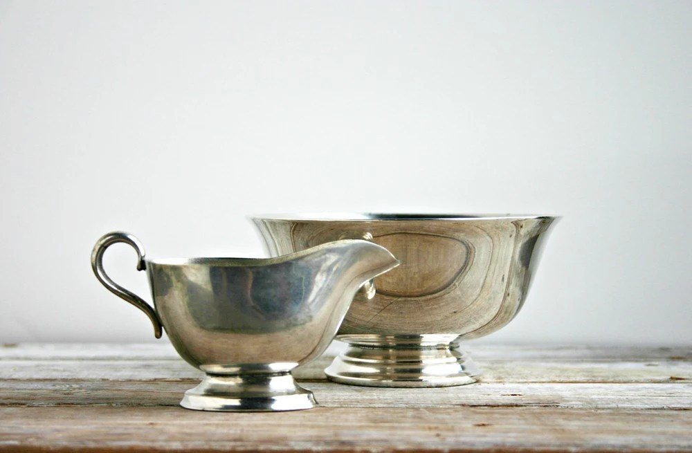 2 Pieces of Vintage Silver Plate
