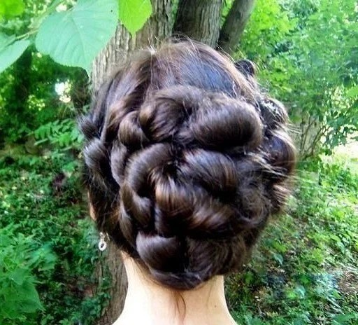 Large Bridal Wedding Up Do filler wig hair extension custom to your hair color