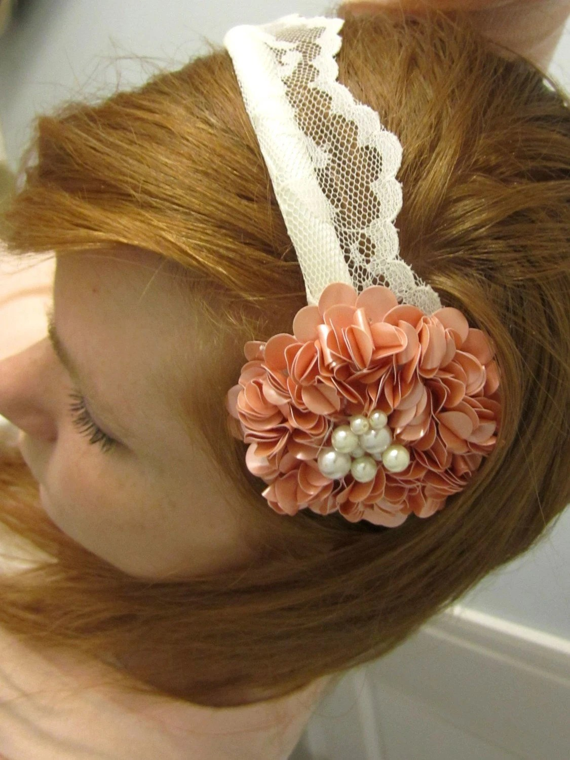 Anastasia- Delicate Lace Headband