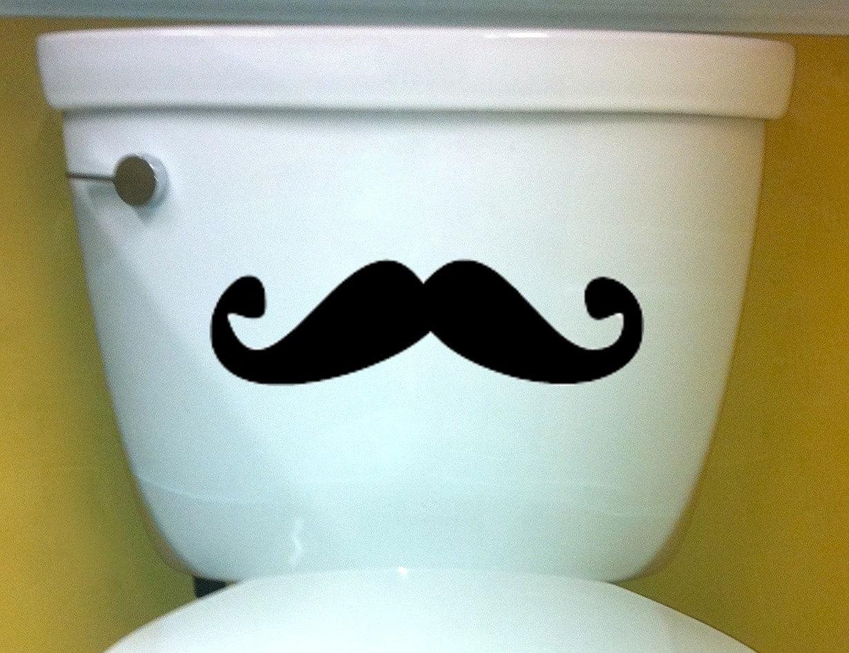 Mustache John Decal