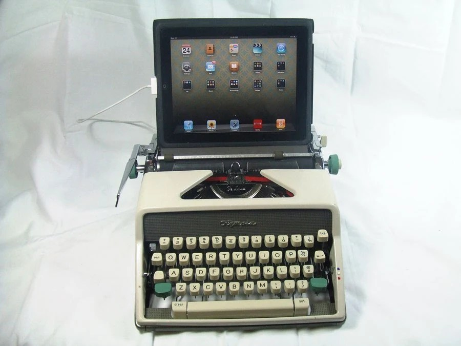 USB Typewriter -- Olympia Portable