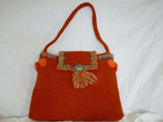 orange purse