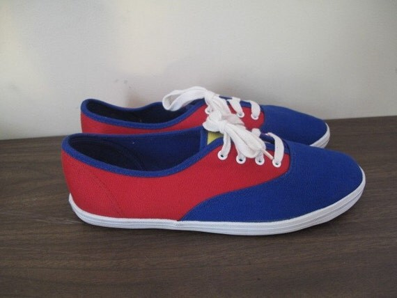 Primary Colours Canvas Sneakers