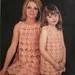 Vintage Crochet Pattern 031 Leafy Lace A-line Dresses from WonkyZebra