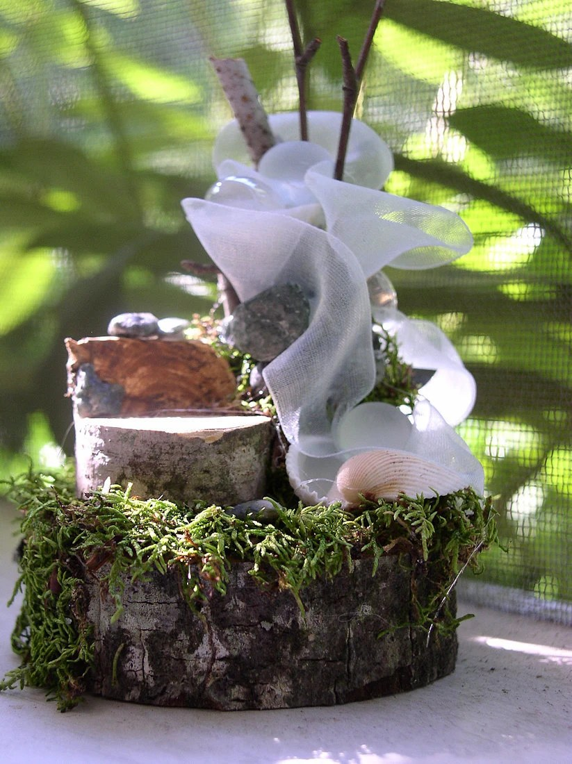 Woodland Fairy Princess Chair and Forest Fountain