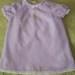 Purple Heirloom Baby Dress