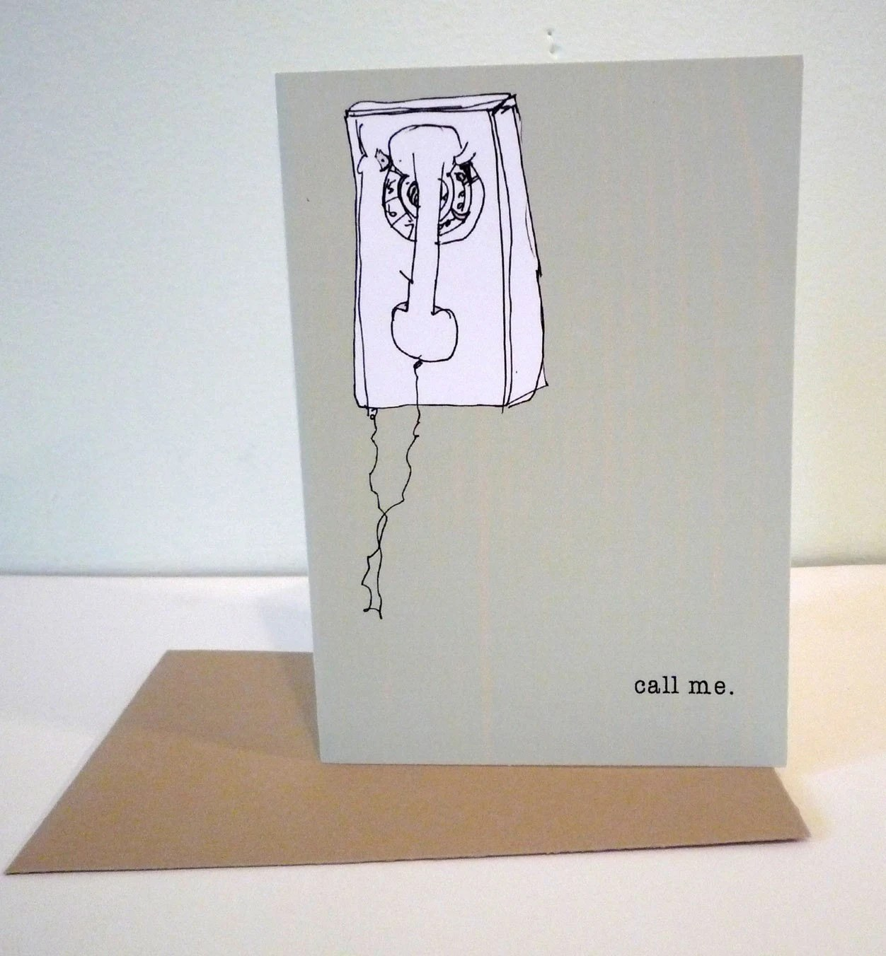 the artsy call me card