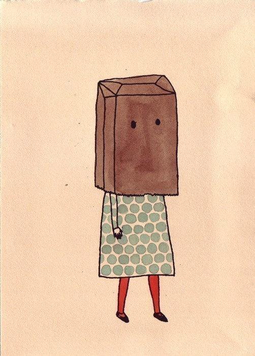 Paper Bag Head