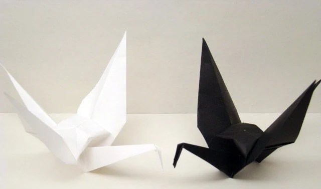 ORIGAMI CRANES MEANING EMBROIDERY Amp ORIGAMI