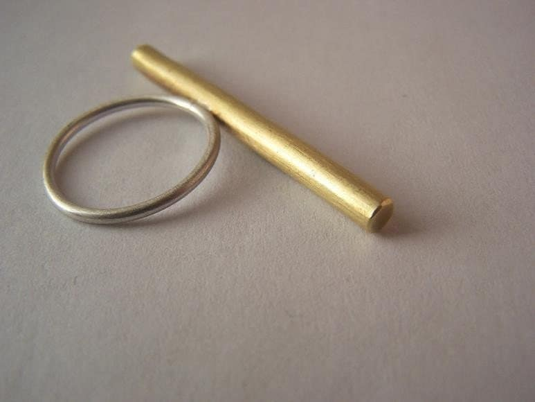 Brass Rod Ring