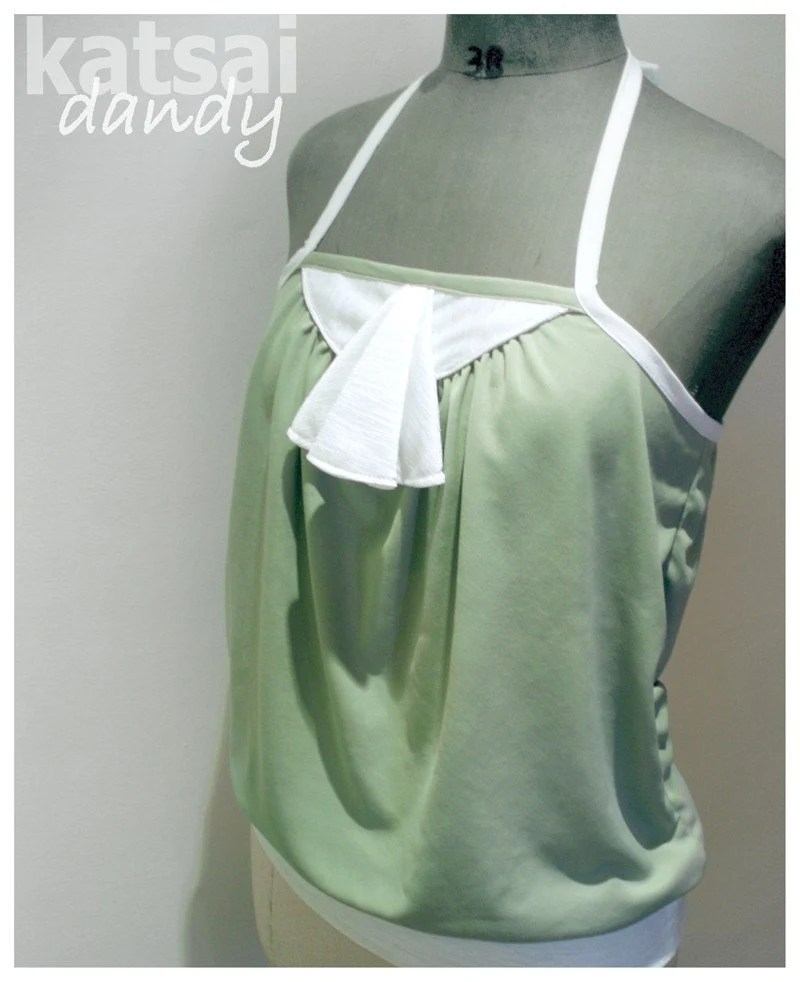 Dandy Halter with Jabot