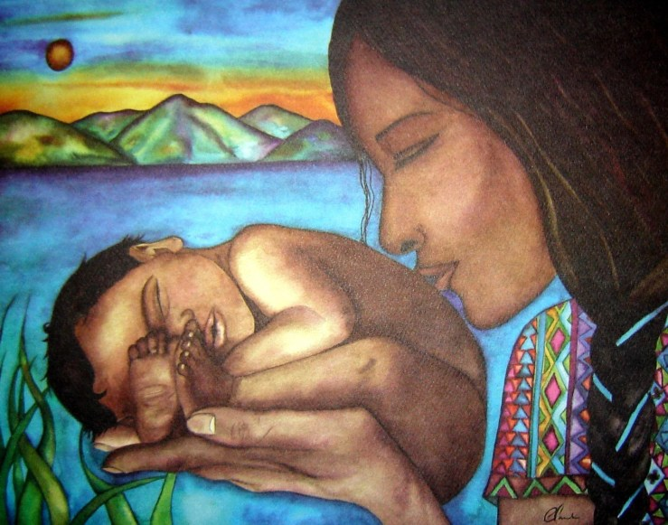 Image result for mayan mother