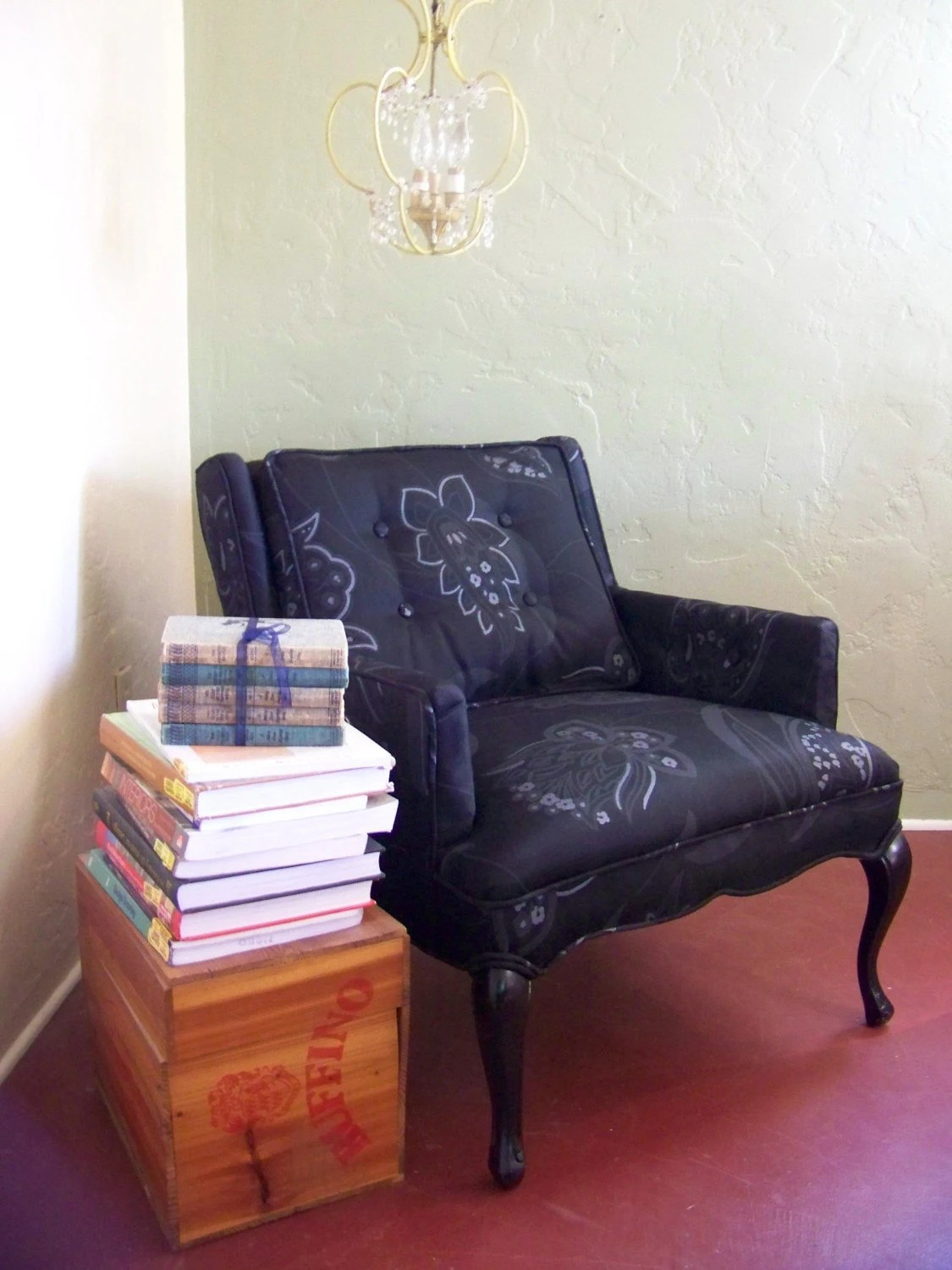 Revival Home Goods Petite Paisley Chair