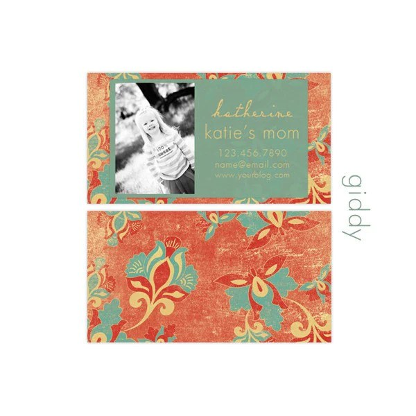 Mommy Cards - Giddy