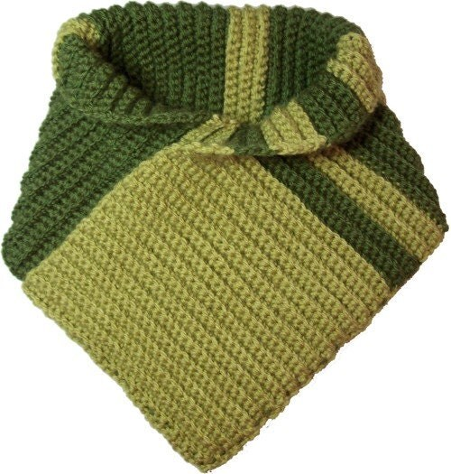 Right Angle Reversible Scarf - Crochet Pattern