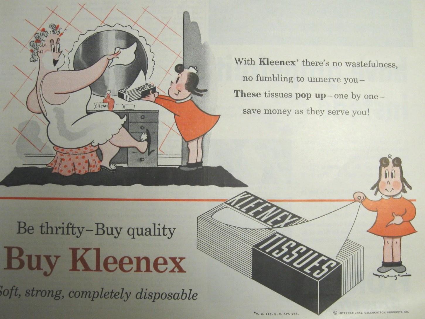Resultado de imagen de foto del creador de kleenex en 1924