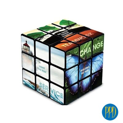 How to market your business with a Custom Rubik's Cube