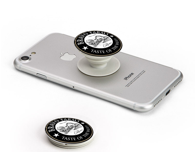 New York. How to market your business with a Pop Phone Socket Stand.