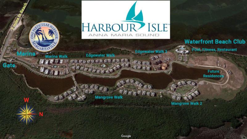 harbour isle siteplan