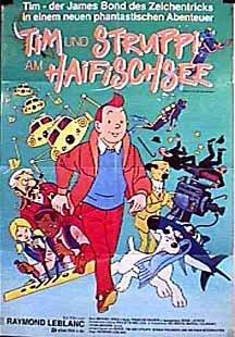 Tintin i Hajsjön