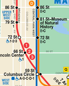 Estación 81 St - Museum of Natural Histoty