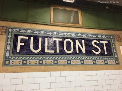 Fulton subway