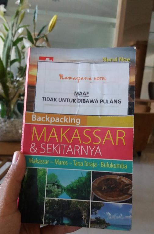 Buku 'Backpacking Makassar dan Sekitarnya' (Nurul Noe)