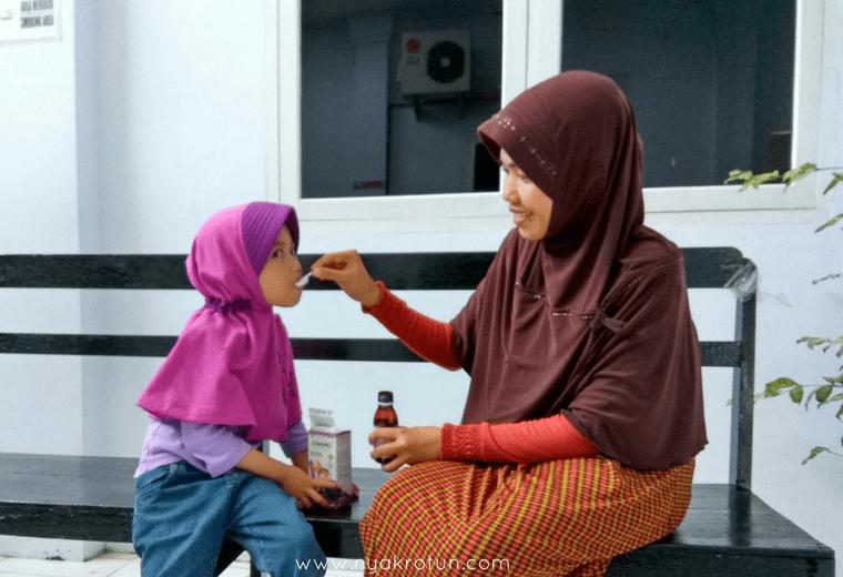 Memperkuat imun tubuh anak