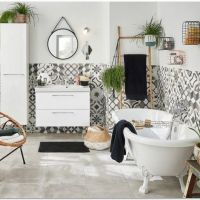 42 Boho Bathroom Decor Diy Apartment Therapy