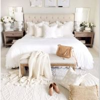 42 Love The Neutral Color For Master Bedroom Idea 52