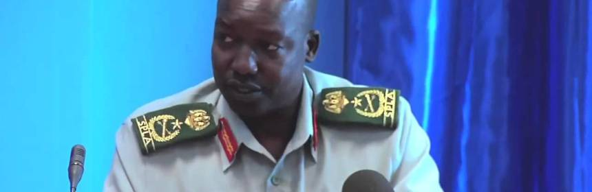 Lt. Gen. Thomas Cirillo Swaka, former Deputy Chief of Staff for Logistic(Photo: file)