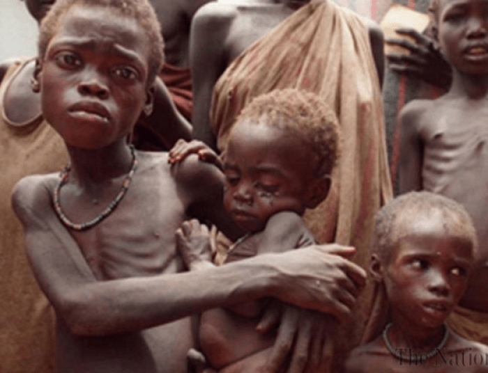 South Sudanese kids, women and elderly are facing starvation from a brutal war imposed by the leadership of President Salva Kiir(Photo: file)
