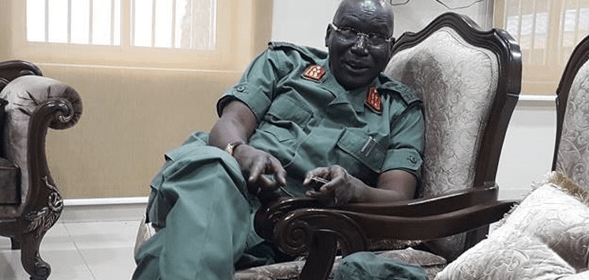 South Sudan SPLA-IG Chief of staff, Lt. Gen. Paul Malong Awan(Photo: file)