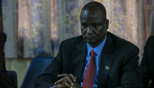 Stephen Taban Deng Gai, 'First Vice President'(Photo: File)